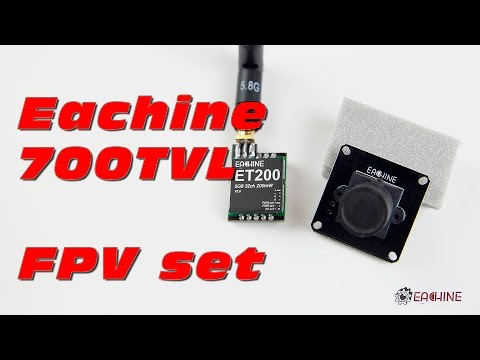 Eachine 700TVL CMOS FPV Set From Banggood