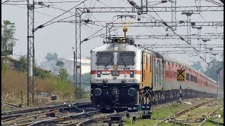 Diwali Special : 2 in 1 Terrific High Speed Actions | LHB Trains | Amgaon Railway Station