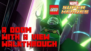 Lego Marvel Super Heroes -  A Doom With a View Walkthrough - 1080P  60 FPS - XBox One Gameplay