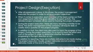 Project Management Six Pharses khmer language - krumony.com