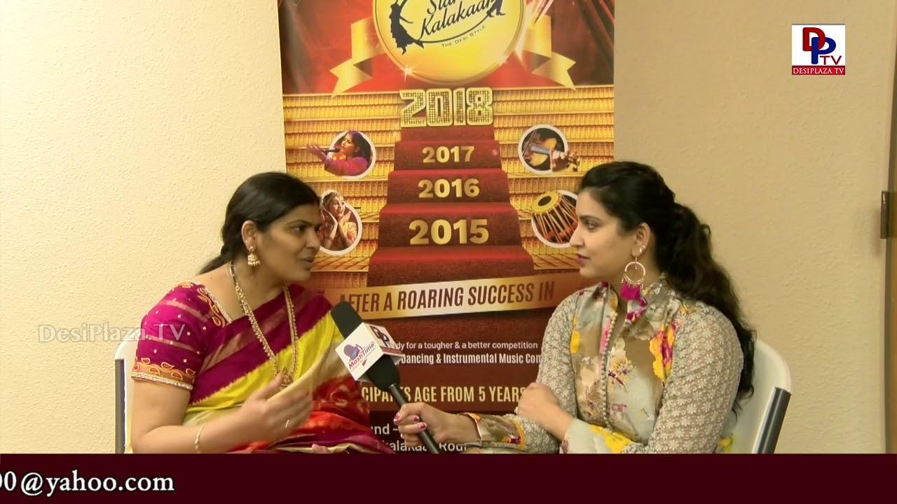 Interview with Meenakshi Anipindi - Meenakshi Suswara Academy - Host: Sandhya | SK2018 | DesiplazaTV
