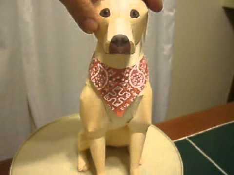 Labrador Retriever Papercraft