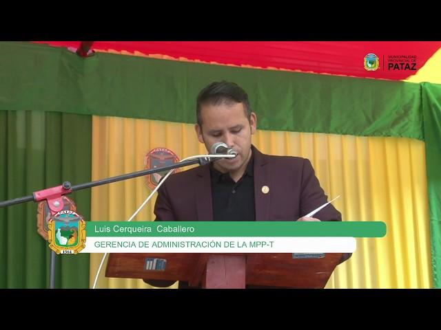INFORME situacional de la Municipalidad Provincial de Pataz