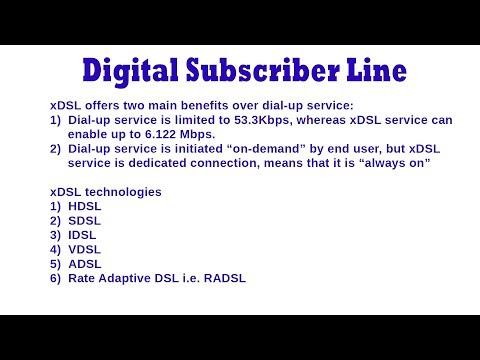 Digital Subscriber Line - Brief Introduction