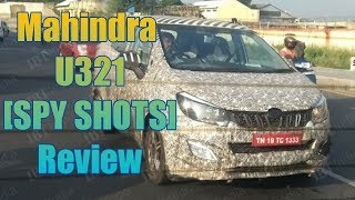 Mahindra U321 MPV spyshots (REVIEW) 2018 INDIA   Car guru  