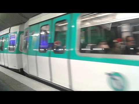 MF77 - Ligne 7 RATP - Louis BLANC
