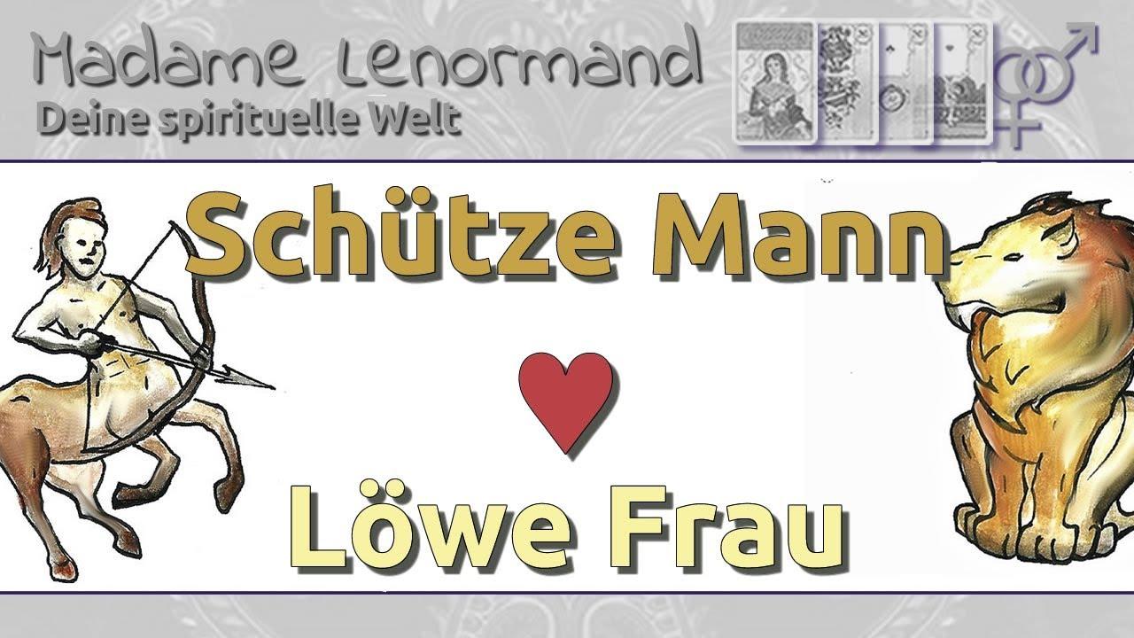 Schütze Mann & Löwe Frau: Liebe und Partnerschaft - YouTube