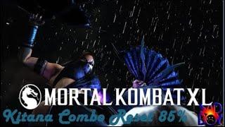 Mortal Kombat XL- Kitana Combo Reset 85%