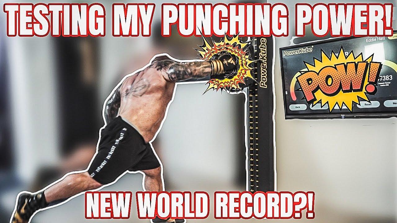 Can I hit Harder than Francis Ngannou? | Punching Power Test