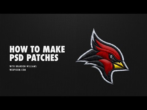 How To Make PSD Patch Logos With Brandon Williams