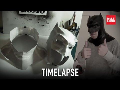 Timelapse - Batman Cowl Mask DIY Cosplay