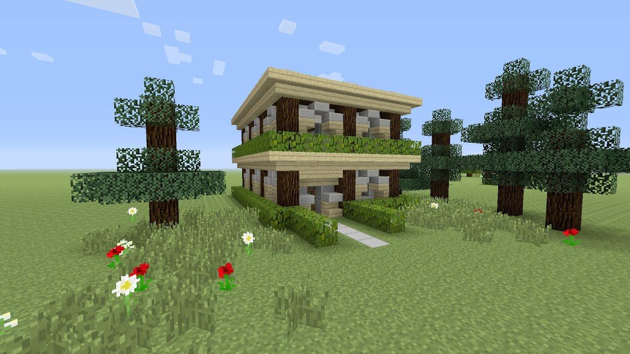 minecraft een huis bouwen 2 youtube