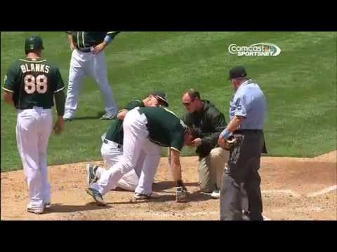 MLB Hit Batters Compilation
