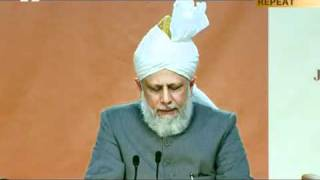 Jalsa Salana UK 2011, Address to Lajna by Hadhrat Mirza Masroor Ahmad aba