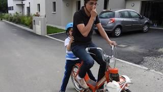 Le vélosolex à Pordic