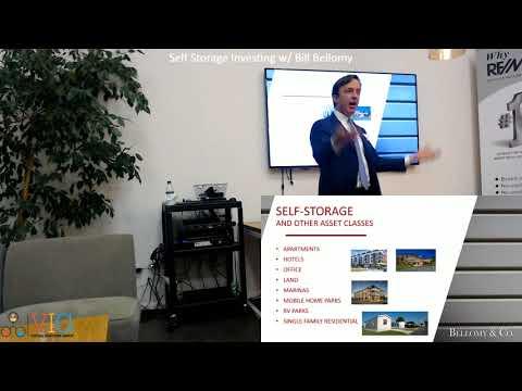 Self Storage Investing - Advantages, Finding Deals, Financing, Management & More!