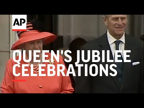 Highlights of the day's Jubilee celebrations
