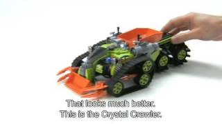 lEGO Power Miners - Set Review - Crystal Crawler