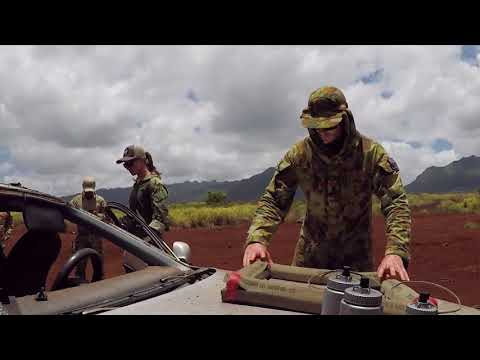 Explosive Ordnance Disposal on Exercise RIMPAC