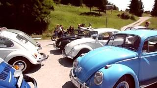 10. medzinárodný zraz vzduchom chladených VW II, Dedinky, priehrada / VW chrobák 31.7. - 2.8.2015