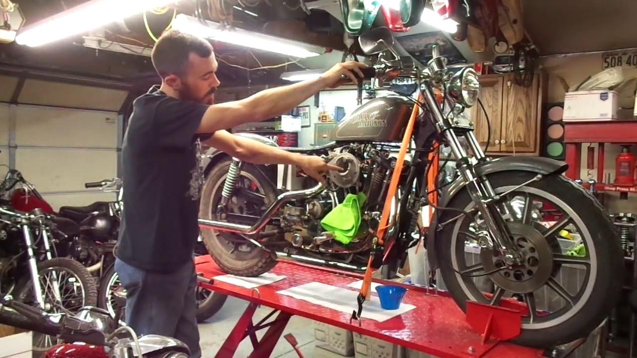 Barn Find 79 Harley Ironhead Sportster