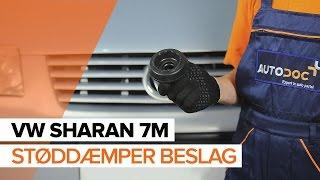 Sådan udskifter du støddæmper beslag på VW SHARAN 7M [GUIDE]