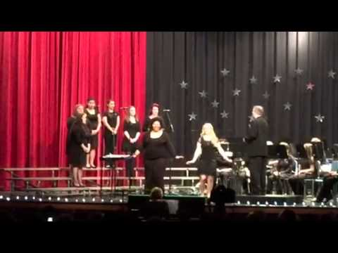 South Lenoir High School Spring Concert Blue Crew video no11