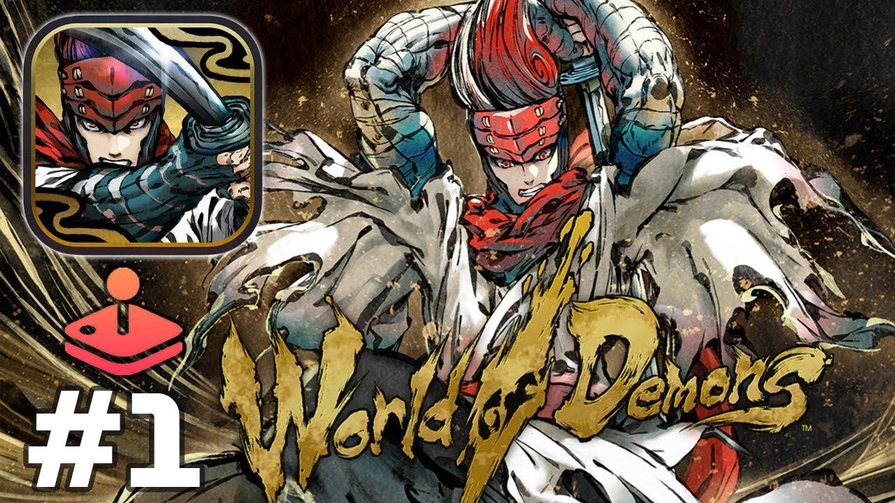 Apple Arcade: World of Demons - A samurai's brush with danger - Gameplay Part 1