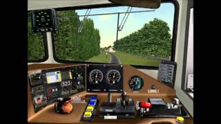 train simulator cab ride amtrak 73
