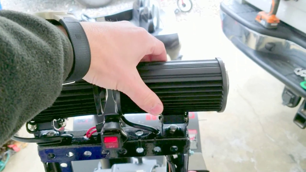 Add A Headlight To Most Snowblowers Youtube Tecumseh Engine On Off Switch Wiring Diagram