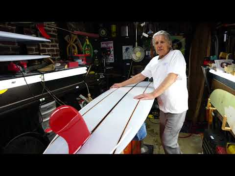 Mike Hynson Surfboards Red Fin Model