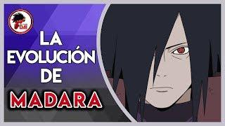 Naruto: Historia y Evolución de MADARA UCHIHA
