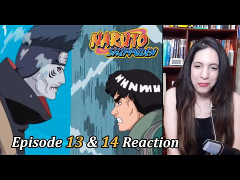 Naruto Shippuden Episode 13 & 14 Reaction. Kisame Vs Might Guy