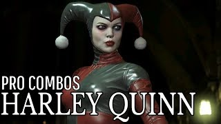 Injustice 2 - Harley Quinn - Master Combo Guide - Easy to Advanced