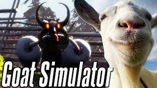 Demoniczna koza Szatana - Goat Simulator PL