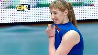 ขุ่นแม่ Gamova ตบไฟท์เด็กซ่า Boskovic วอลเลย์บอลหญิงชิงแชมป์โลก 2014 รอบสอง