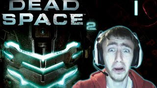 "Dead Space 2 - Walkthrough with Scare Cam - Part 1 ""The Beginning..."""