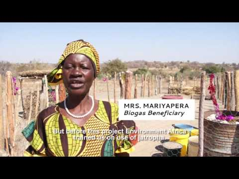 Biogas for Cooking & Lighting in Zimbabwe
