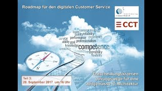 Webinar Teil 3 Roadmap für den digitalen Customer Service