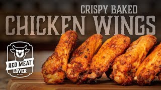 Oven Baked Chicken Wiฑgs - TASTY Tips for Baking CRISPY Chicken Wings!