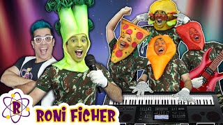 RONI FICHER MUSICA - A BANDA DOS ALIMENTOS / MUSIC / DANCE / CLIPE - THE FOOD BAND