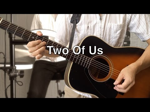 Two Of Us - The Beatles karaoke cover