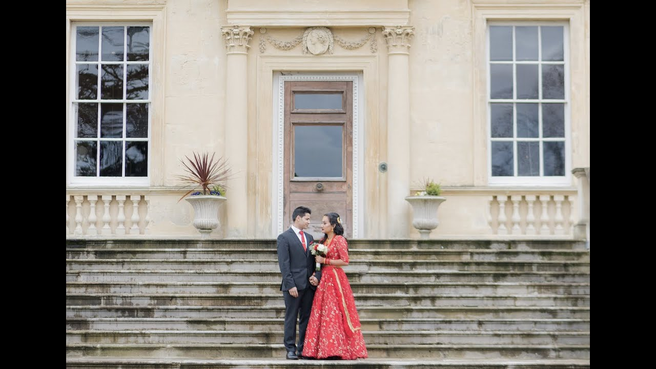 Shanti & Sandip   Nepalese wedding reception highlights ( UK )   Hamro Moments