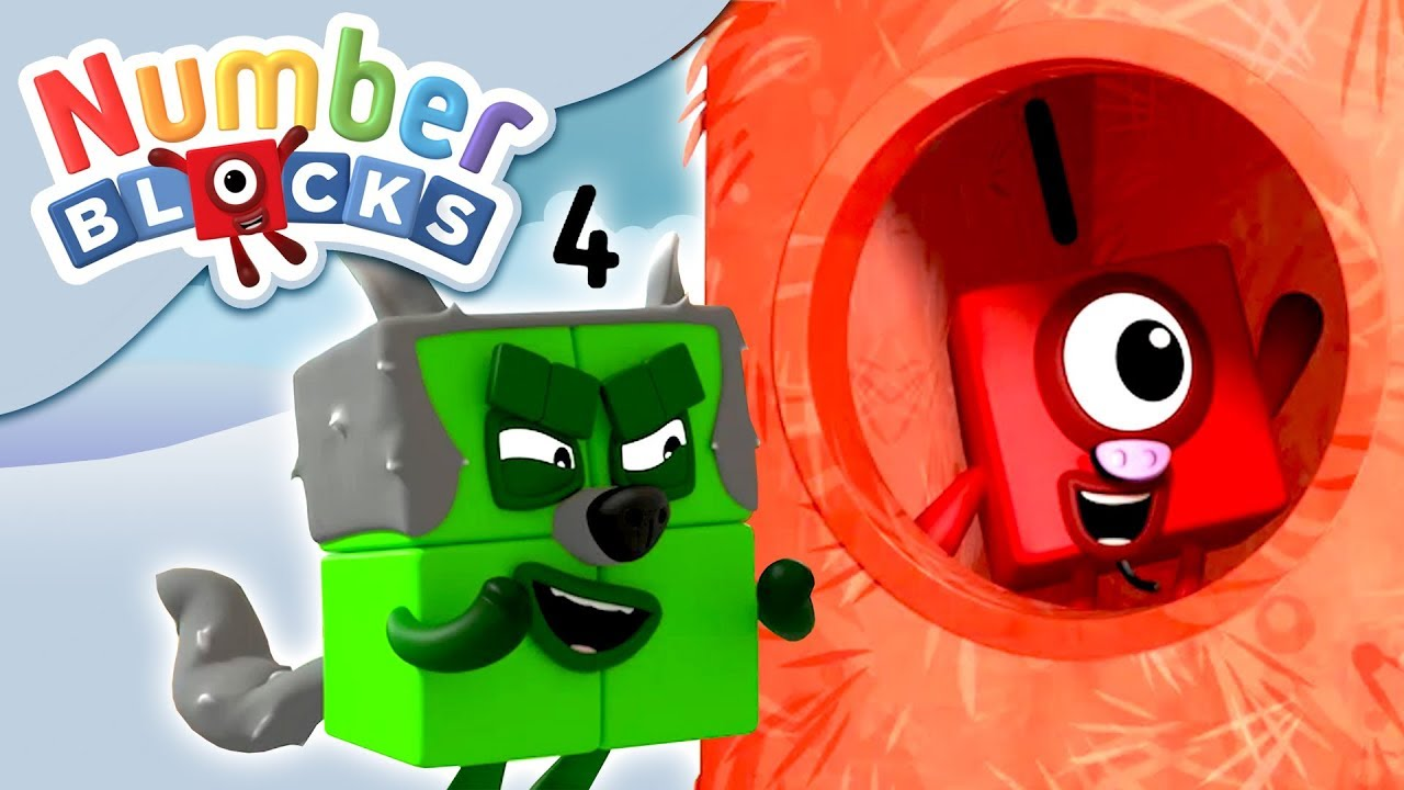 Numberblocks - Three Little Pigs | Learn to Count