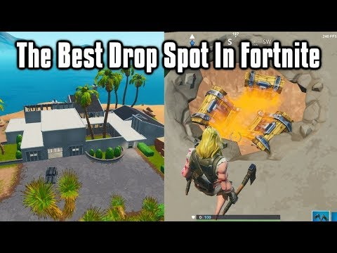 BEST New Drop Spot For Easy Wins + Scrims! - Fortnite Battle Royale (Season 9) from YouTube · Duration:  3 minutes 19 seconds
