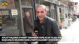 """Bitlis Detay - Adilcevaz Halkına """"Seçimi Kim Kazanır?"""" Diye Sorduk"""