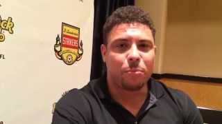 Ronaldo introduced as part-owner of Fort Lauderdale Strikers