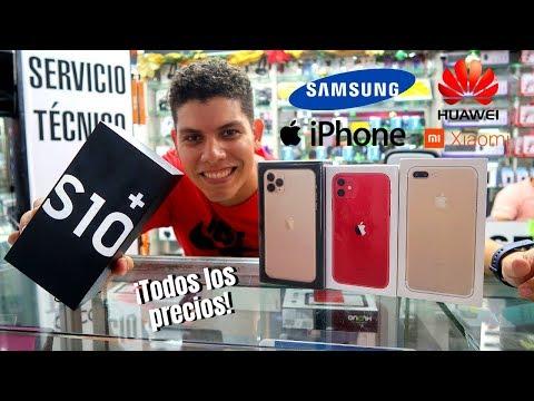 ¿Cuanto CUESTAN LOS CELULARES En COLOMBIA? 📱 Iphone Samsung Huawei Xiaomi