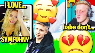 CORINNA *ADMITS* CHEATING on TFUE with SYMFUHNY! (Fortnite)
