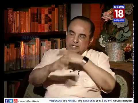 Interview with Subramanian Swamy | Vellum Sol | News18 Tamil Nadu